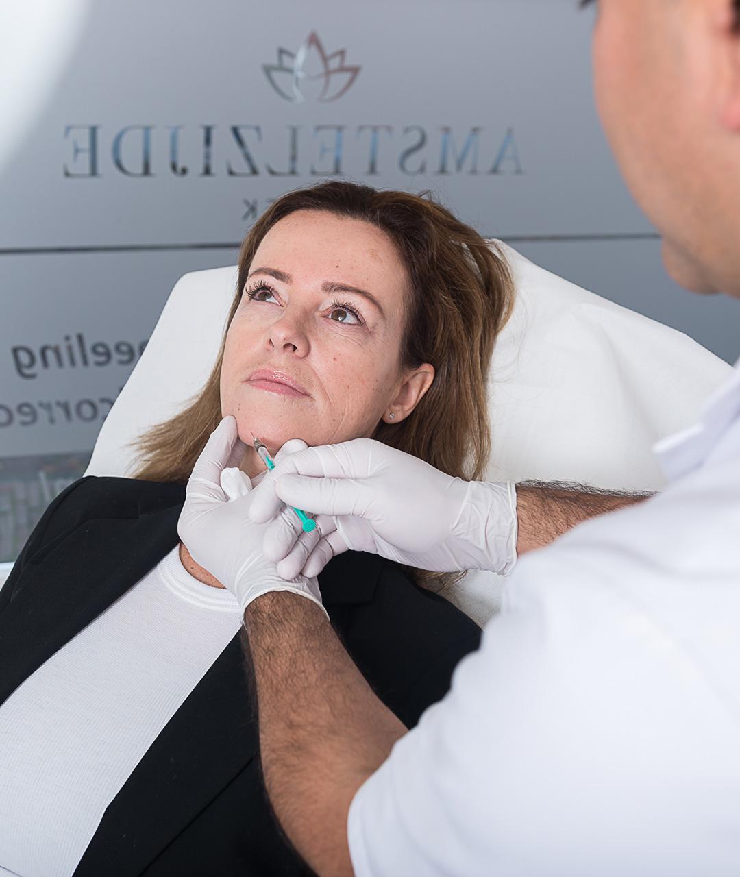 Kin behandeling botox en fillers